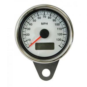 Mini Compteur de vitesse éclairage LED 61mm en Km/h