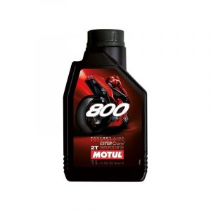 Huile moteur 2T Motul 800 2T FACTORY LINE Road Racing 1L