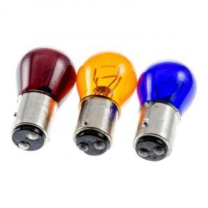 Ampoule feu / stop BAY15D arrière 12V 21/5W - Orange