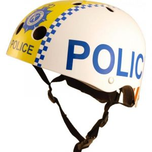 Casque enfant Kiddimoto Police - S (48-53 cm)