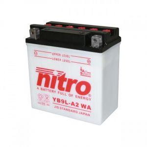 Batterie Nitro YB9L-A2 12V 9 Ah