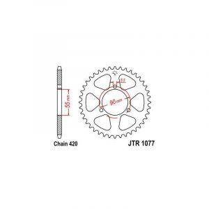 Couronne JT Sprockets Acier pas 420 47 dents - Pour Rieju 50 RS2 Matri