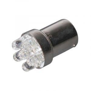 Ampoule Tun'R BA15S 6 LEDs Clignotant 12V 10W Orange