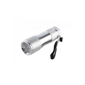 Lampe torche LEDS Aluminium   - 9 leds