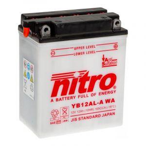 Batterie Nitro YB12AL-A  12V 12 Ah