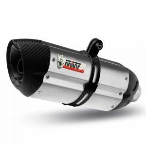 Silencieux MIVV Suono inox / casquette carbone BMW R1200GS 10-12