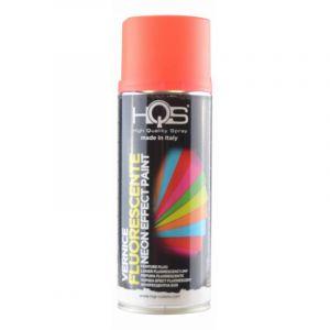 Bombe de peinture HQS orange fluo 400ml