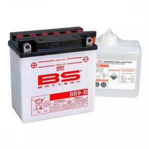 Batterie BS Battery BB9-B 12V 9,5Ah conventionnelle avec pack acide