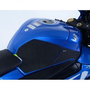 Kit grip de réservoir R&G Racing noir Suzuki GSX-R 1000 17-18