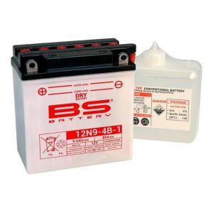 Batterie BS Battery 12N9-4B-1 conventionnelle 12V 9,5Ah avec pack acid