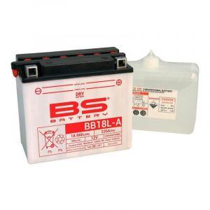 Batterie BS Battery BB18L-A 12V 18,9Ah conventionnelle avec pack acide