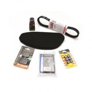 Pack entretien maxi-scooter Bihr pour Piaggio X8 125 04-08