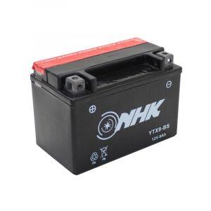 Batterie NHK YTX9-BS 12V 8Ah YTX9-BS avec entretien livrée avec pack a