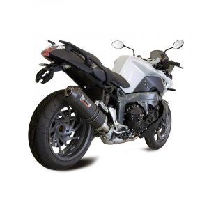 Silencieux MIVV Oval carbone / casquette carbone BMW K1300 R / S 09-