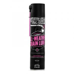 Lubrifiant spray chaîne Muc-Off All Weather 400ml