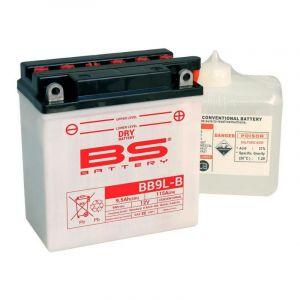 Batterie BS Battery BB9L-B 12V 9,5Ah conventionnelle avec pack acide