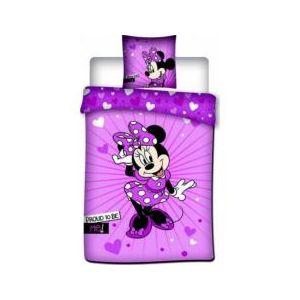 housse de couette Minnie - Disney violet
