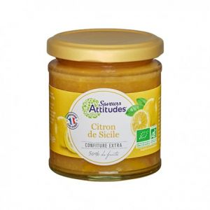 Confiture de Citron de Sicile BIO 220gr*