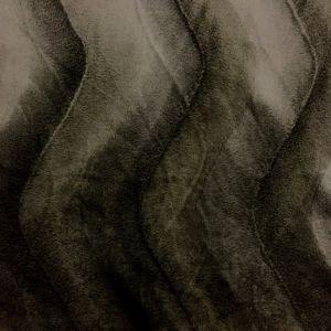 Tissu Velours Peau de bête Ours Brun