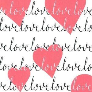 Tissu Michael Miller Love Heart