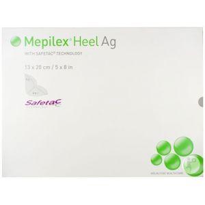 Mepilex Heel Ag Pansement Stérile 13 x 20cm 5 Pièces (388100)