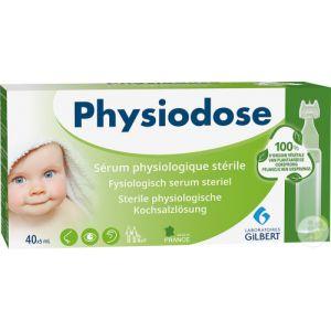 Physiodose Sérum Physiologique Physiodose Green 100% D'Origine Végétale 40X5ml