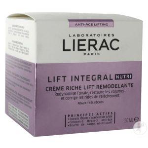 Lierac Lift Integral Nutri Crème Riche Lift Remodelante Pot 50ml