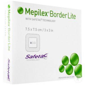 Mepilex Border Lite Pansement Stérile 7,5 x 7,5cm 5 Pièces (281200)