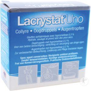 Lacrystat Uno Collyre Unidoses 20x0,4ml