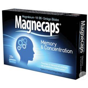 Magnecaps Memory & Concentration 28 Gélules
