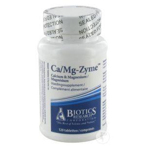 Energetica Natura Biotics Ca/Mg-Zyme 120 Comprimés