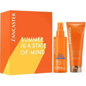 Lancaster Sun Beauty Set Spray Lacté Non-Gras IP30 150ml + Tan Maximiser Lait Après-Soleil 125ml