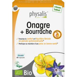 Physalis Onagre Et Bourrache Bio 60 Capsules