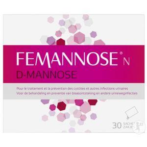 Femannose D-Mannose Sachets 30x4g