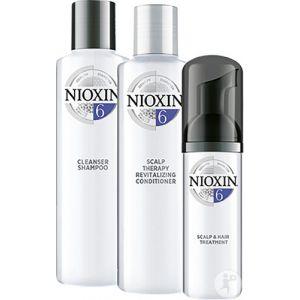 Nioxin System 6 Kit D'Essai Cheveux Naturels Ou Traités Chimiquement 3 Produits