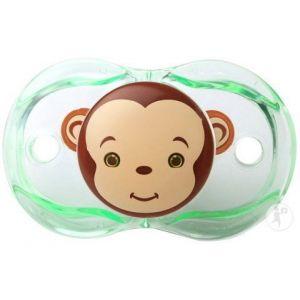 Raz Baby Keep-It-Kleen Sucette Monkey 0-36 Mois 1 Pièce