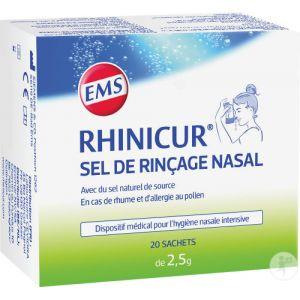 Rhinicur Sel De Rinçage Nasal Sachets 20x2,5g