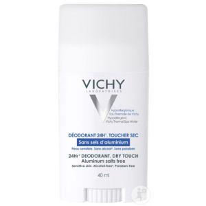 Vichy Déodorant 24h Toucher Sec Sticks 2x40ml Promo 2ème À -50%