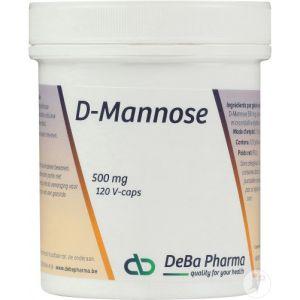 Deba D-Mannose 500mg Capsules 120
