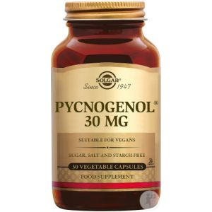 Solgar Pycnogenol 30mg Gélules Végétales 30