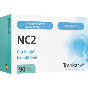 Trenker NC2 Native Collagen II Articulations 90 Gélules Nouvelle Formule