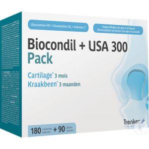 Trenker Pack Biocondil 180 Comprimés Pelliculés + USA300 Gélules 90 Nouvelle Formule