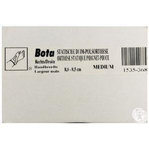 Bota Orthèse Statique Poignet-Pouce Skin Droit Medium 8,0-8,5cm 1 Pièce
