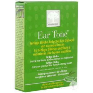 New Nordic Ear Tone Pour Une Bonne Audition 30 Comprimés