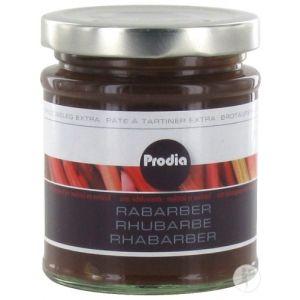 Prodia Pâte A Tartiner Extra Rhubarbe 215g