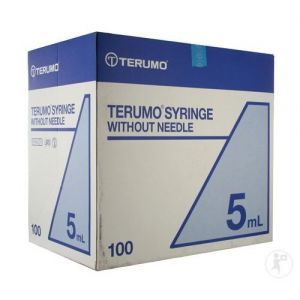 Terumo Seringue Sans Aiguille Luer 5,0ml 100