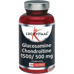Lucovitaal Glucosamine Chondroïtine 1500/500mg Comprimés 120 + 30 Gratuits