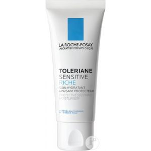 La Roche-Posay Toleriane Sensitive Riche Soin Hydratant Apaisant Protecteur Tube 40ml