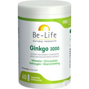 Be-Life Gink-Go 3000 Gélules 60