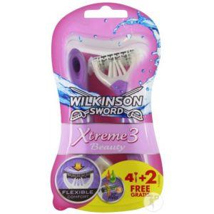 Wilkinson Xtreme 3 Beauty 4 + 2 Gratuits